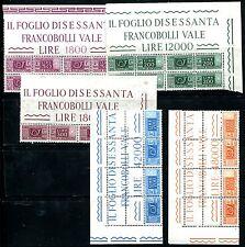 ITALIEN PAKET 1966 102-103 etc ** RANDINSCHRIFTEN (J0360