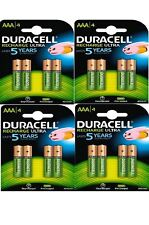 16 x Duracell AAA 850 mAh Rechargeable Ultra Batteries NiMH ACCU LR03 HR03 Phone
