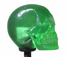 New! Green Skeleton Skull Shift Knob Sold Resin Rat Rod Gear Lever Hot