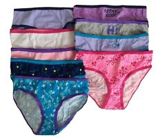 Girls So Size 10 Underwear 9 Pack Authentic American Heritage