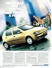 PUBLICITE ADVERTISING 096  1999  Fiat  la  Punto  5 portes