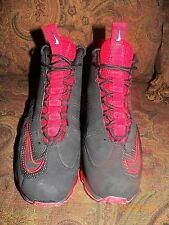 Pre-Owned Men's Nike Air Max Jr Black/Varsity Red Shoes – 442478-002 size 11.5