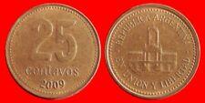 25 CENTAVOS 2009 ARGENTINA-27455