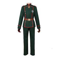 Anime Youjo Senki Tanya military uniform suit set Costume cosplay Custome-made