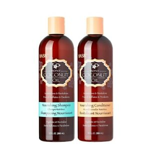 Hask Coconut Oil Shampoo & Conditioner Nourishing Bundle Bonus Size 15oz