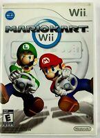 Mario Kart Wii Game Bundle With OEM Wheel Genuine Nintendo