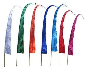 Balifahnen-Stoff SANUR mit herzförmiger Spitze, verschiedene Farben und Längen