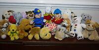 Soft Plush Toys Puppy Dog Teddy Bear Cow Elephant Turtle  Monkey Owl Noddy etc