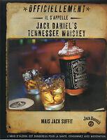 Publicité Advertising 2002  WHISKY  JACK DANIEL'S  OLD N°7 BRAND