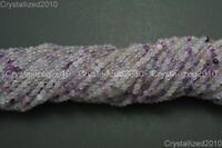 "Natural Purple Fluorite Gemstone Round Beads 2mm 4mm 6mm 8mm 10mm 12mm 14mm 16"""