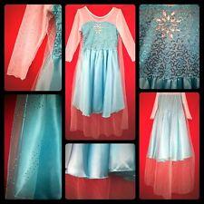 Disney's Frozen Princess Queen Elsa costume birthday party fancy dress NWT 6-8yr