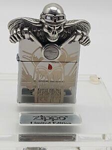 Original Zippo Ghost Rider / Deathrider Limited Edition 2017 - 1919/2500 - Neu