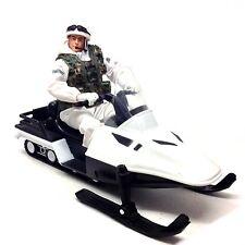 """HM FORZE ARMATE 10 """"Snow Patrol action figure giocattolo + SNOWMOBILE Nizza!"""