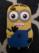 New 3D Cartoon Minions Single Eye Soft Silicone Case Cover for iPhone 4 4S