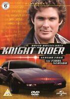 Knight Rider Stagione 4 Nuovo DVD Region 2