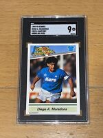1989 Kenner Forza Campioni SGC 9 Highest POP 1 RC Diego Maradona Rookie Rare