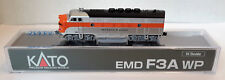 N Scale KATO F3A 'Western Pacific' DCC Ready Item #176-1203