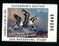 US Duck Arizona Stamps # 4b VF Governors edition NH Scott Value $75.00