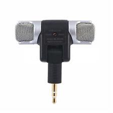 Microfono Condensatore Cellulare Registrazione Stereo Accessorio Vocali