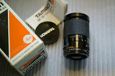 28-135MM F4-4.5 TAMRON ADAPTALL 2 LENS IN ORIG. BOX (28A)