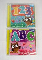 ABC Learn the Alphabet & 123 Learn to Count Songs & Rhymes BBC Audio Book CD