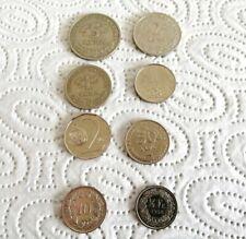 Konvolut Umlauf Münzen Tschechien, Kroatien, Schweiz Reste aus Urlaub Kleingeld