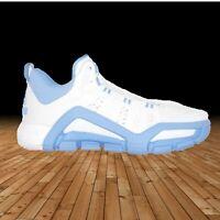 Adidas Crazyquick 3 Team Basketball Shoes Adiprene White/Light Blue Mens Size 16