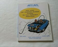 Artcurial Catalogue Luxury Sale Comics 27 September 2008 Franquin Titeuf Pilot