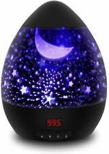 Lampe LED de Projection Enfant Veilleuse Bébé Lampe De Chevet Ambiance 360° Neuf