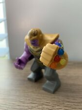 LEGO Thanos Minifigure with Complete Infinity Gauntlet (76131)