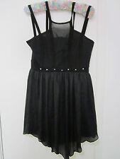 BEAUTIFUL BLACK DRESS BY PAPER SCISSORS SIZE 8/10