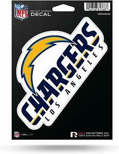 """RICO NFL Los Angeles Chargers Diecut Vinyl Decal Sticker 5""""x 6"""" 2-4 Day Delivery"""