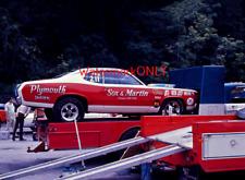 """Sox & Martin"" Ronnie Sox 1970 Plymouth Duster Pro Stocker & ""Rig"" PHOTO! #(120)"