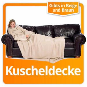 XXL Snuggie Blanket Fleecedecke Ärmeldecke Lounge-Decke Kuscheldecke mit Ärmeln