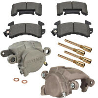78-88 GM Metric Loaded Brake Caliper Kit w/D154 Street Brake Pads
