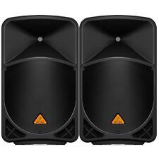 "BEHRINGER EUROLIVE B115D coppia diffusori attivi 2 vie woofer 15"" 1000watt picco"
