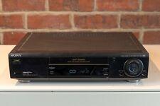 Sony SLV-E720 VHS VCR Video Player / Recorder Black
