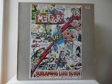 METEORS MEET SCREAMING LORD SUTCH & SAVAGES - STICKER COVER - IMPORT - VERY RARE
