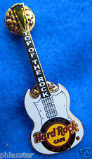 ROME ITALY TOP OF THE ROCK SG GIBSON HENDRIX GUITAR Hard Rock Cafe PIN LE150
