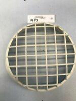 Piaggio Cuppini Scheinwerfer Lampen Gitter Ring VESPA 50 - 125 PK XL2 weiß (N73)