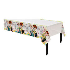 """54"""" x 96"""" Disney's Frozen Fever Birthday Party Plastic Disposable Table Cover"""
