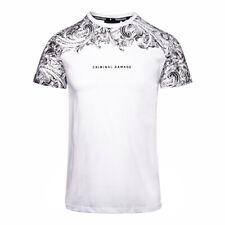 CRIMINAL DAMAGE Men's Cotton - Jersey  Fresco T-Shirt