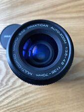 Prakticar, Auto Zoom,  1:3.5 - 4.8, f 35 - 70mm,Macro 52mm Diameter Lens