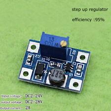 DC-DC Boost Converter 3.3v 5v 9v 12v 2A Adjustable Step Up Power Supply Module