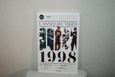LIVRE L ANNEE DU JEU VIDEO 1998 THIRD NEUF ZELDA RESIDENT EVIL HALF LIFE GAME