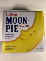 Lookout Moon Pie Tin Since 1917 Collectable Made in the USA  Empty Retro Look