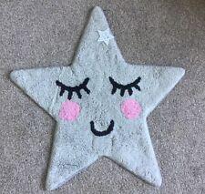 'SWEET DREAMS' GREY STAR NURSERY / CHILDRENS BEDROOM RUG MAT MODERN PLAYROOM