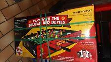 jeu Kicker diables rouges red devil  carrefour football collection fan