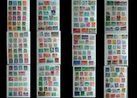 Large World Stamp Collection Luxemburg Switzerland United States & Latin America