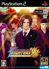 Used PS2 The King of Fighters 98 Ultimate Match  SONY PLAYSTATION JAPAN IMPORT